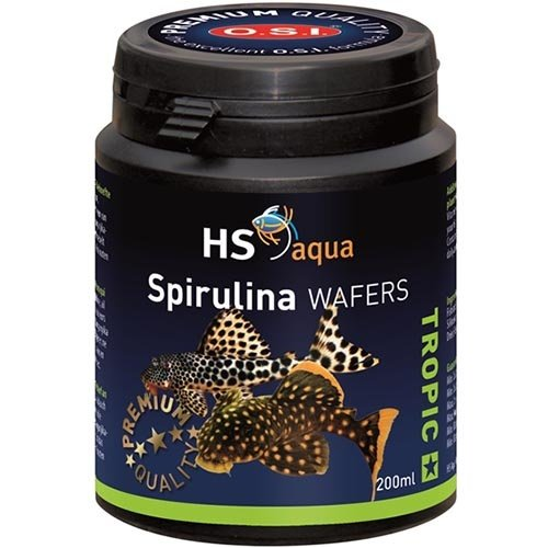HS Aqua HS Aqua Spirulina Wafers 200 ml