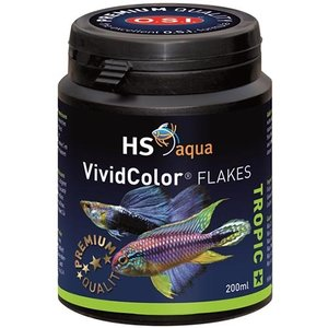 HS Aqua HS Aqua Vivid Color Flakes 200 ml
