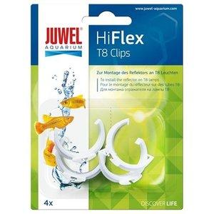 Juwel Juwel Hiflex T8 Clips 4 Stuks