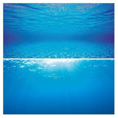 Juwel Juwel Poster L 100 x 50 cm Tweezijdig Bedrukt Blauw