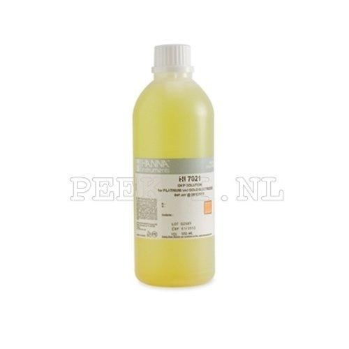 Kalibratie vloeistof 7021L +240 mV Redox test vloeistof
