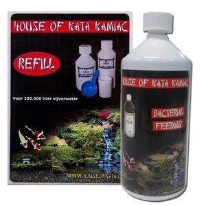 House of Kata Kata Kamiac Refill klein en Kata Bacterial Feeding 1 ltr (actie)