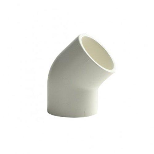 """Aquaforte Knie 45gr. 1½"""" lijmverbinding wit voor UB beadfilter"""
