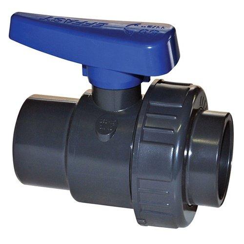 Effast Kogelkraan lijm met enkele wartel 40mm PN 16
