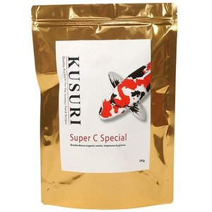 Kusuri Kusuri Super C niet chemische vijver en Filter Cleaner 1 KG