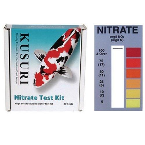 Kusuri Kusuri Testset Nitraat (NO3+) 0, 10, 25, 50, 75 ml/g (30 tests)