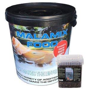 De Koidokter Malamix Food 7 KG en Zijderupsen 3 ltr
