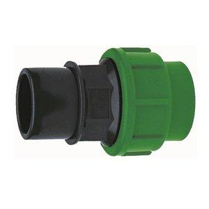 Overgangskoppeling Recht PVC - PE 25-32x16 mm