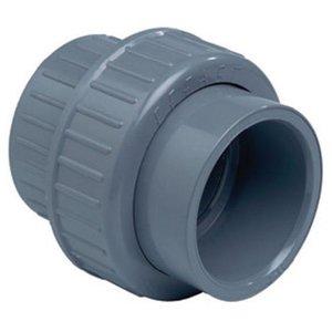 PVC 3/3 koppeling met O-ring 50 mm