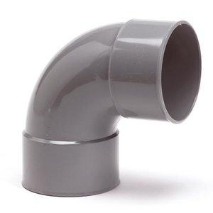 PVC Bocht Afvoer 88º 110 mm
