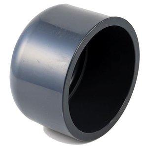 VDL PVC Eindkap Druk 63 mm VDL