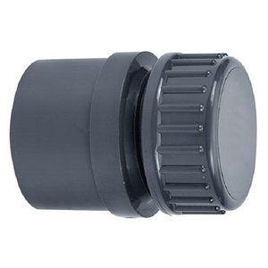 "PVC Eindset 40 mm / 50 mm x 1¼"""