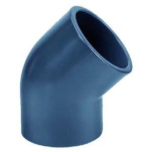 Effast PVC Knie Druk 45º 20 mm Effast