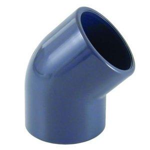 Cepex PVC Knie Druk 45º 75 mm Cepex