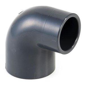 Effast PVC Knie Verloop Druk 90º 50x40 mm
