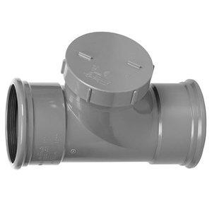 PVC Ontstoppingsstuk 110 mm 2 x Manchet