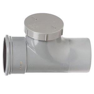 PVC Ontstoppingsstuk 110 mm Manchet x Spie