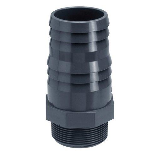 """PVC Slangtule met buitendraad 50 mm x 1½"""""""