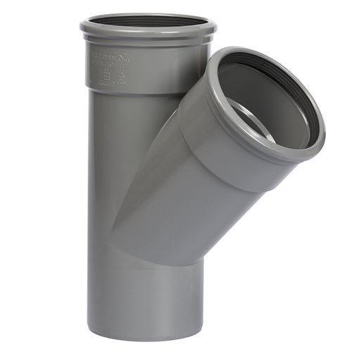 PVC T-Stuk 45º 110 mm 2 x Manchet / Spie