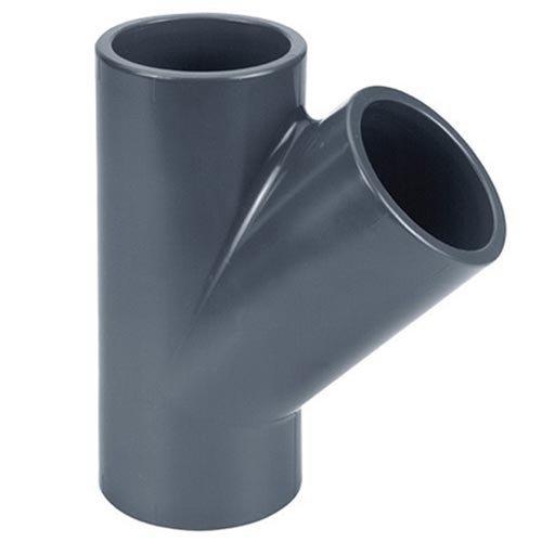 Effast PVC T-stuk Druk 45° 75 mm