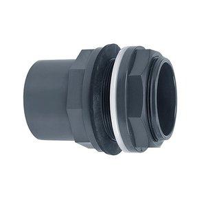 "PVC tankdoorvoer 32/40x32mm 1¼"""