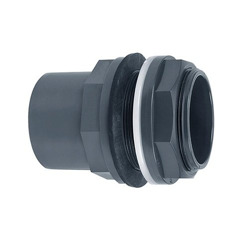 "PVC tankdoorvoer 40/50x40mm 1¾"""