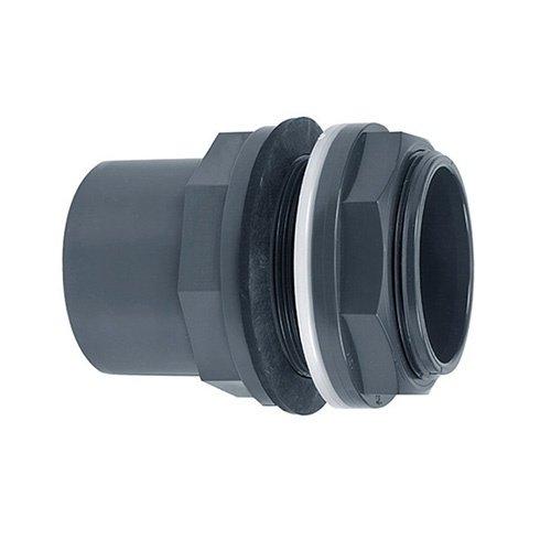 "PVC tankdoorvoer 50/63x50mm 2¼"""