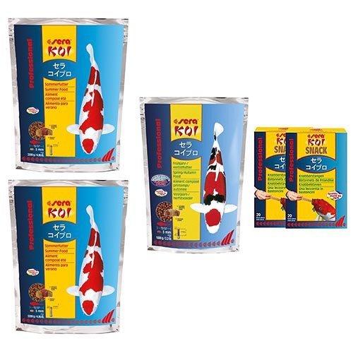 Sera Sera KOI Professional Food Combi Pack 2.0