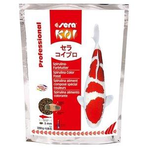 Sera Sera KOI Professional Spirulina-kleurvoer 2200 gram