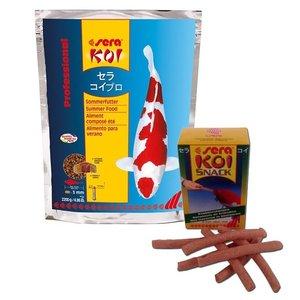 Sera Sera KOI Professional Zomervoer 2200 gram en Knabbelstaven