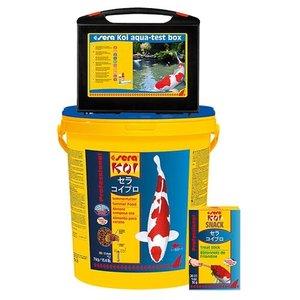 Sera Sera KOI Professional Zomervoer 7 KG + Aqua Test Box + Knabbelstaven