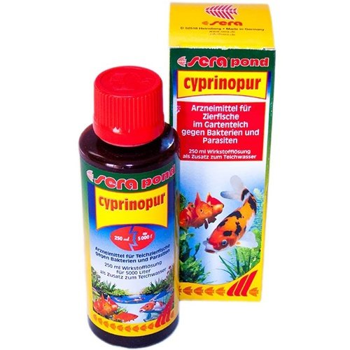 Sera Sera pond Cyprinopur® 250 ml