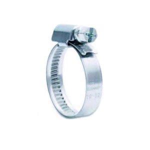 Slangklem RVS 8 - 12 mm