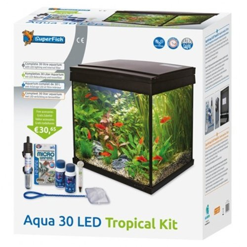 Superfish SuperFish Aqua 30 LED Tropical Kit