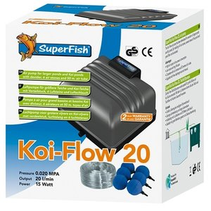 Superfish Superfish Koi Flow 20 Professioneel Beluchtingsset