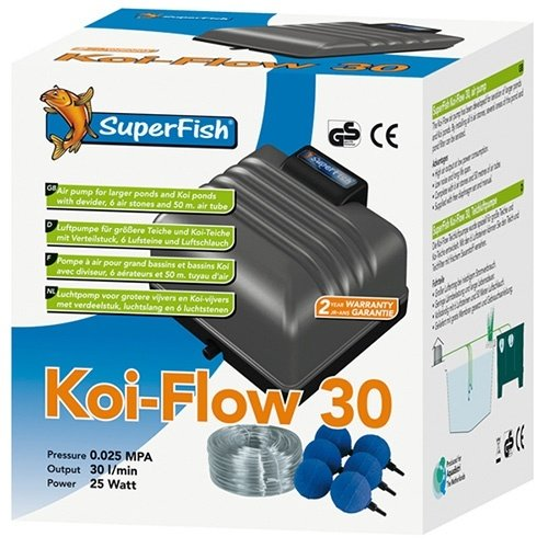Superfish Superfish Koi Flow 30 Professioneel Beluchtingsset