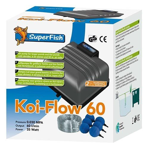 Superfish Superfish Koi Flow 60 Professioneel Beluchtingsset