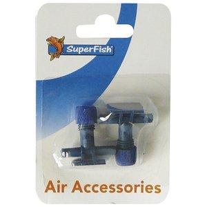 Superfish Superfish Luchtslang Kraan Blitser 2 stuks