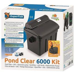 Superfish Superfish Pond Clear 6000 Kit