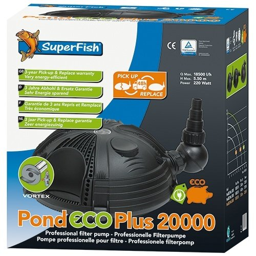 Superfish Superfish Pond ECO PLUS 20.000 220 watt