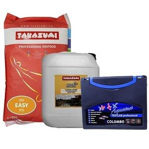 Takazumi Takazumi Easy 10 KG + Takazumi Kien Pro 10 ltr + Colombo Testlab
