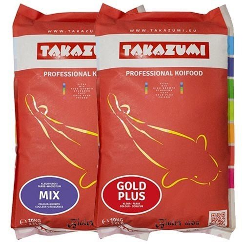Takazumi Takazumi Gold 10 KG en Takazumi Mix 10 KG | Met Biolex-Mos