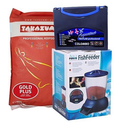 Takazumi Takazumi Gold Plus 10 KG  (Met Biolex-Mos) + Voederautomaat + Testkoffer
