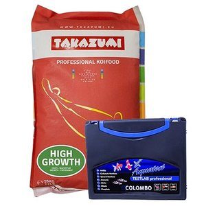 Takazumi Takazumi High Growth 10 KG (Met Biolex Mos) en Colombo Testlab 6