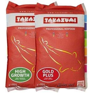 Takazumi Takazumi High Growth 10 KG en Takazumi Gold  Plus 10 KG | Met Biolex-Mos