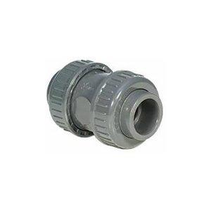 Terugslagklep PVC (Teflon) 63mm