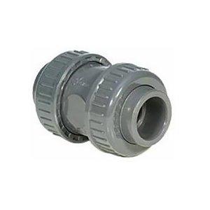 Terugslagklep PVC (Teflon) 75mm