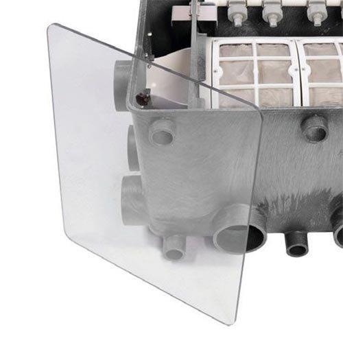 Aquaforte Transparante deksel Aquaforte Trommelfilter