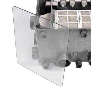 Aquaforte Transparante deksel Aquaforte Trommelfilter XL
