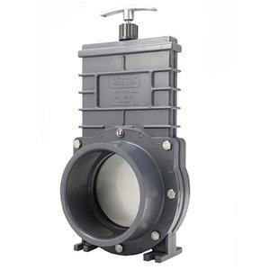 Valterra Valterra PVC Schuifkraan 110 mm met RVS Schuif